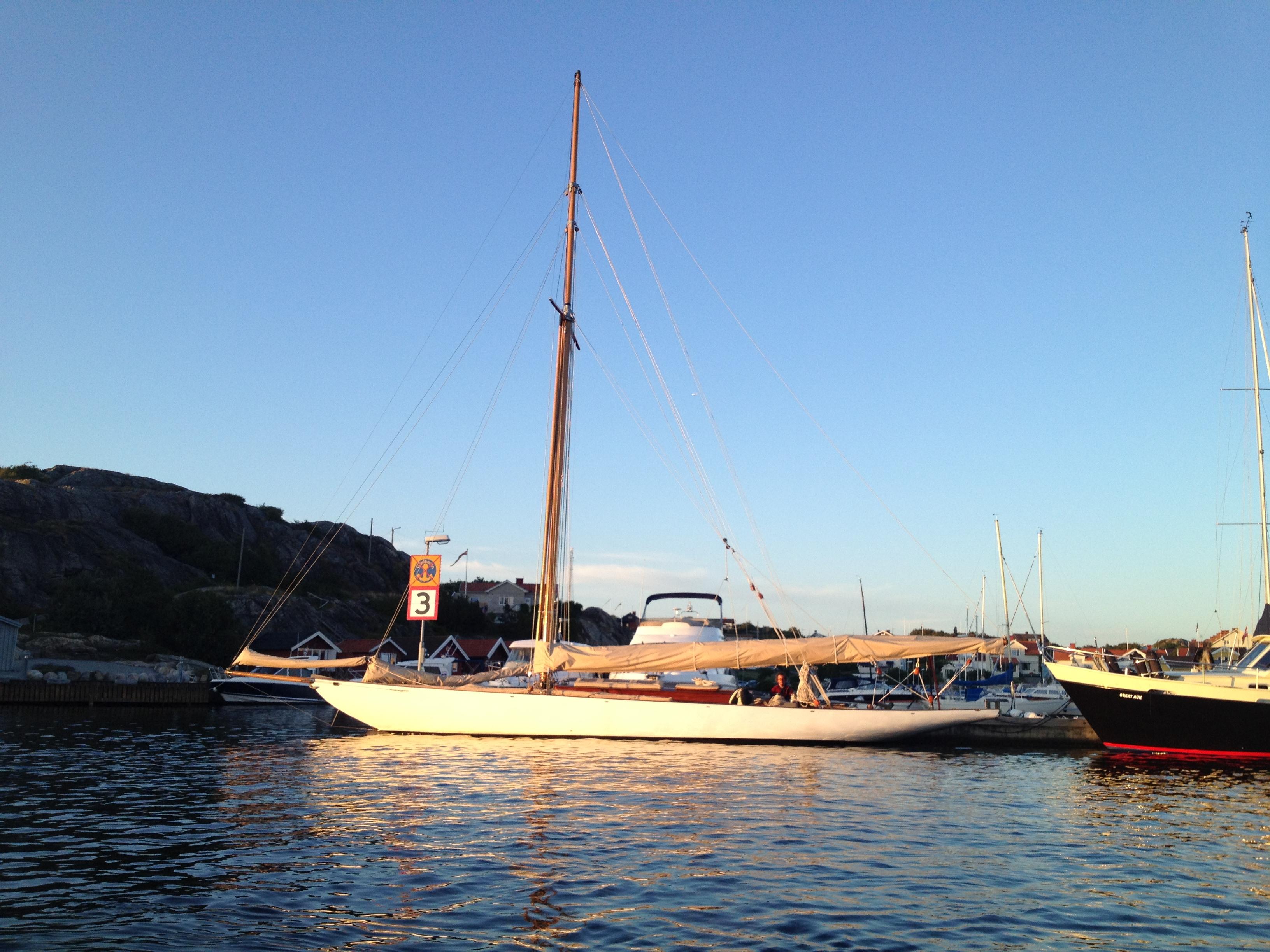 Pandora moored