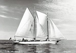 Today's staysail schooner rig