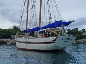 ragnar moored port side