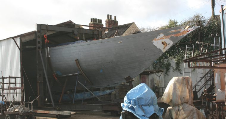 Rebuild of Fife schooner Elise begins on the Humber